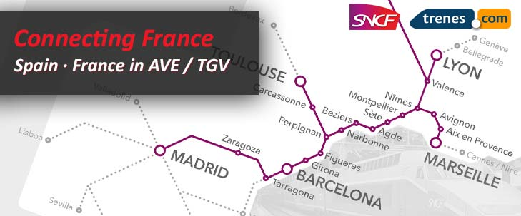 Connecting with France, Trenes.com and SNCF
